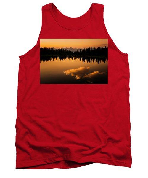 Crater Lake Sunset Tank Top