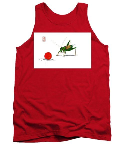 Cricket  Joy With Cherry Tank Top