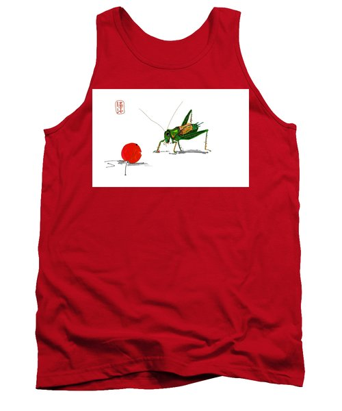 Cricket  Joy With Cherry Tank Top
