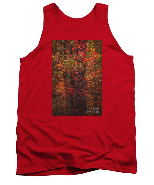 Crimson Fall Tank Top