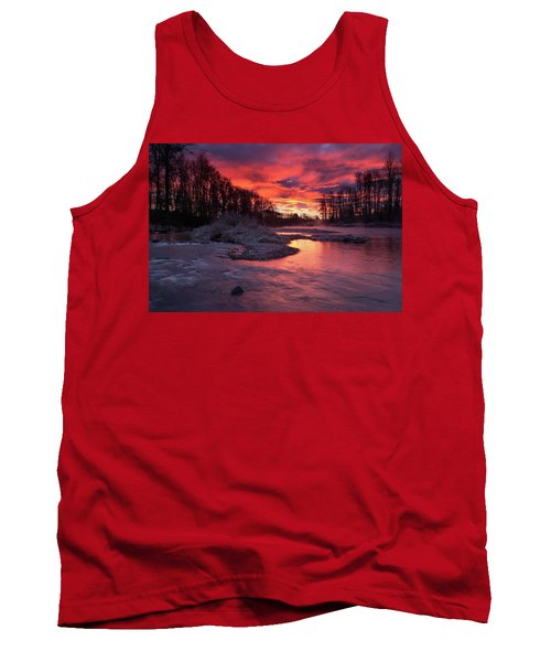 Sage Island Sunrise Tank Top