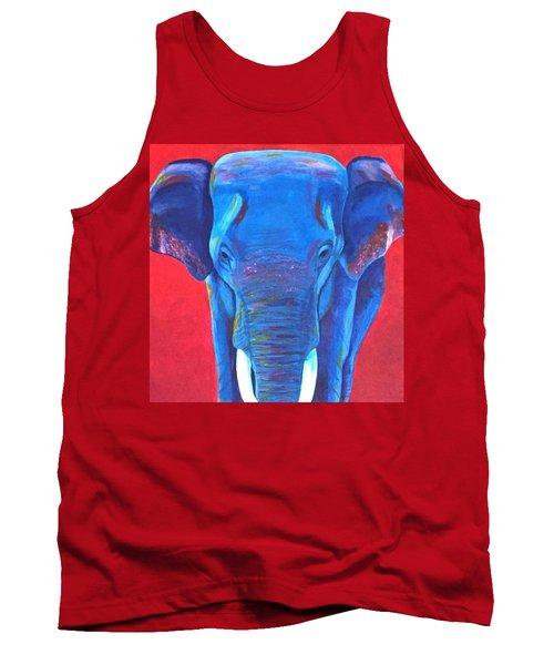 Critically Endangered Sumatran Elephant  Tank Top