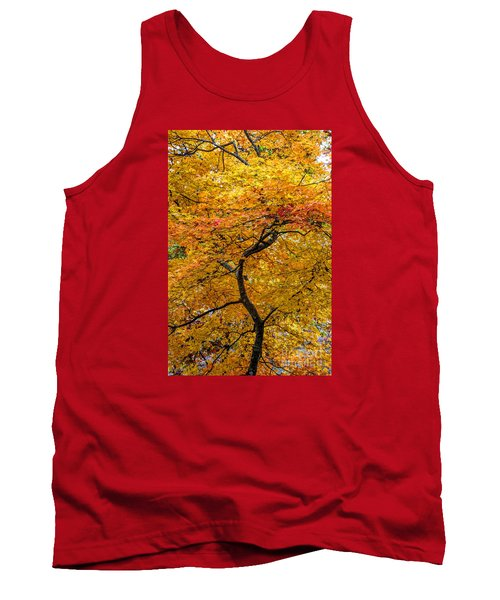 Crooked Tree Trunk Tank Top by Barbara Bowen