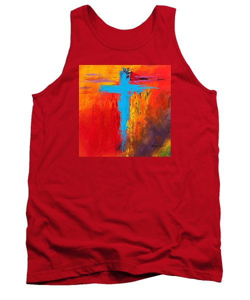 Cross 3 Tank Top by Kume Bryant