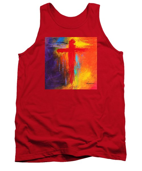Cross Tank Top by Kume Bryant