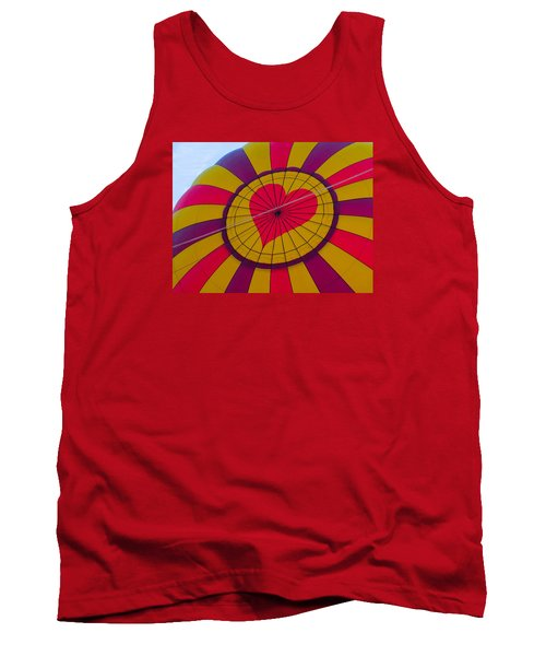 Tank Top featuring the photograph Cross My Heart by Brenda Pressnall