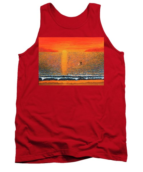 Crossing Over Tank Top by Thomas Blood