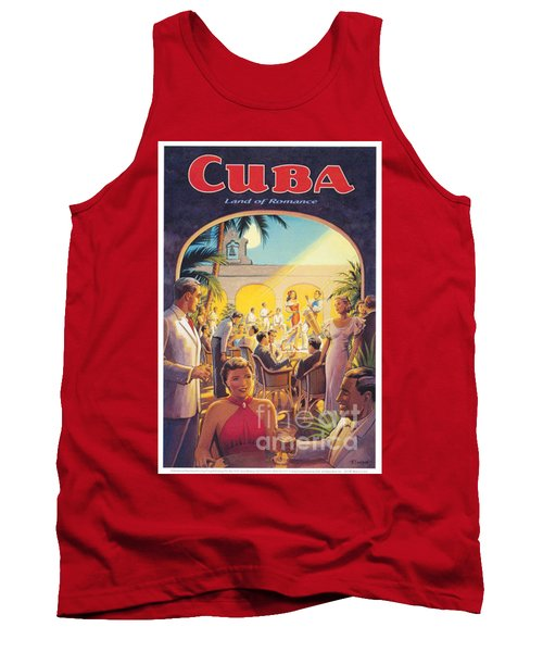 Cuba-land Of Romance Tank Top