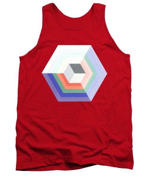 Cube Tank Top by Julio Lopez