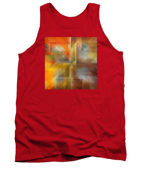 Tank Top featuring the photograph Cubic Space by Mark Greenberg