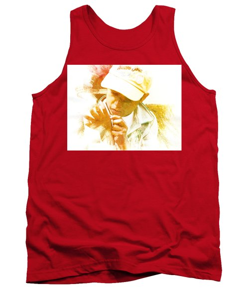 Tank Top featuring the photograph Cuenca Kid 902 - Adinea by Al Bourassa
