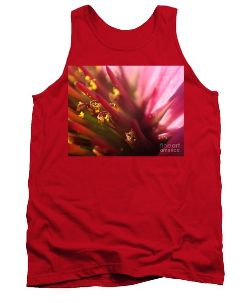 Curly Contrast Tank Top