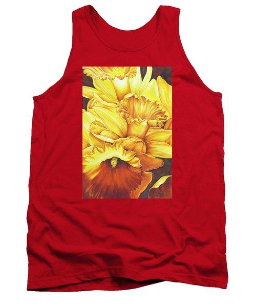 Daffodil Drama Tank Top