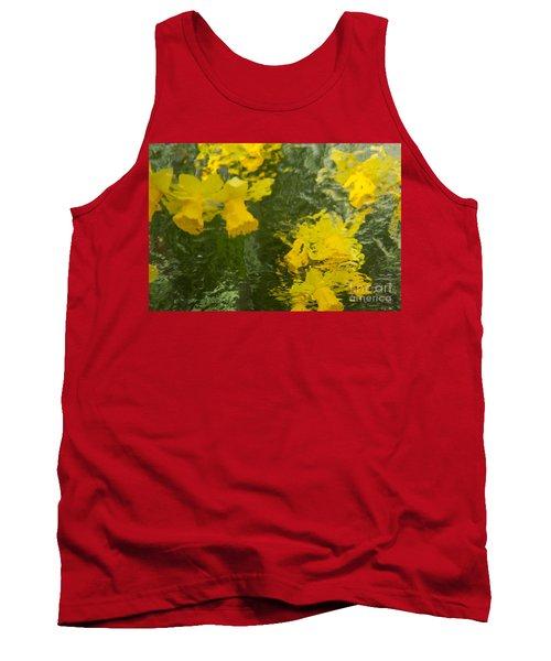 Daffodil Impressions Tank Top