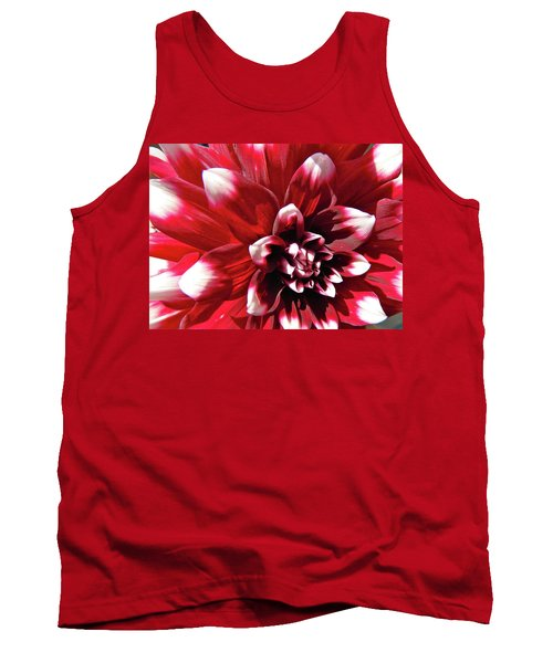 Tank Top featuring the photograph Dahlia Defined by Randy Rosenberger