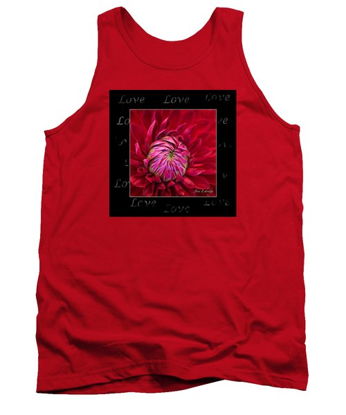 Dahlia Of Love Tank Top