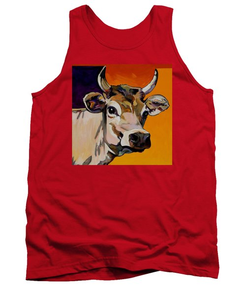 Tank Top featuring the painting Daisy by Bob Coonts