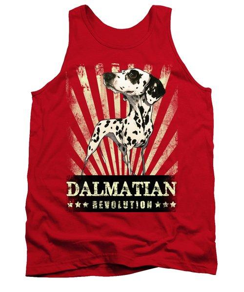 Dalmatian Revolution Tank Top