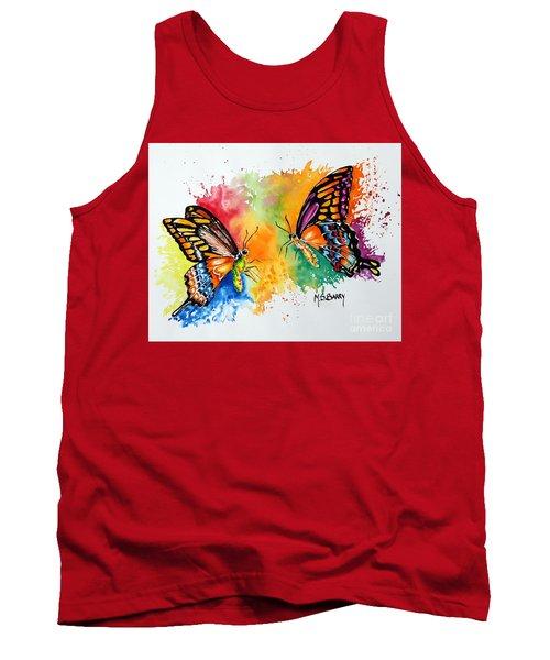 Dance Of The Butterflies Tank Top