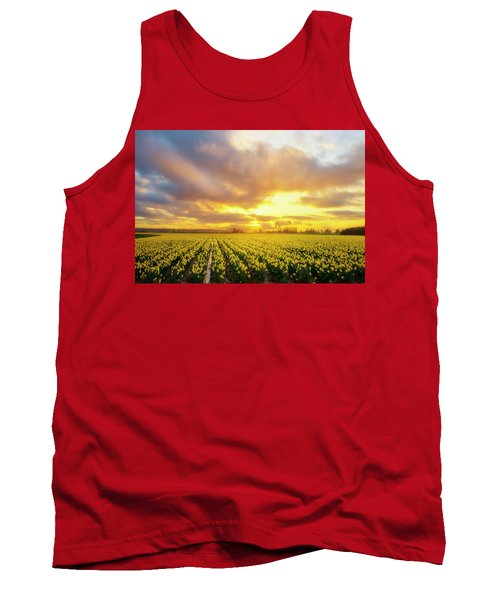 Dances With The Daffodils Tank Top