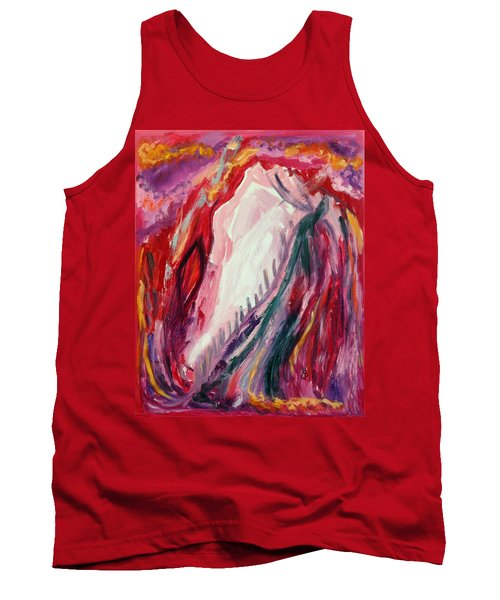 Dancing Under The Moon Tank Top by Diane Pape
