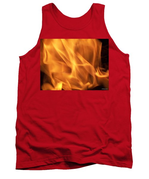 Tank Top featuring the photograph Dancing With Fire by Betty Northcutt