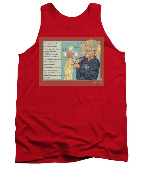 Holy Prophet Daniel Berrigan 291  Tank Top
