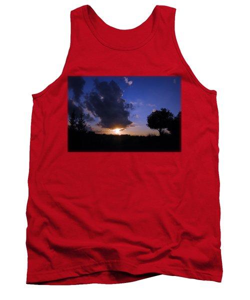 Dark Sunset T-shirt 2 Tank Top