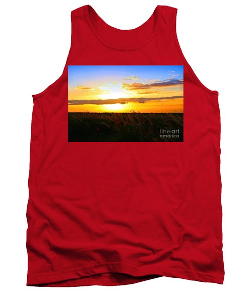 Tank Top featuring the photograph Day's End by DJ Florek