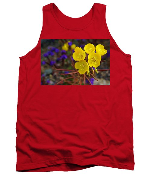 Tank Top featuring the photograph Death Valley Superbloom 206 by Daniel Woodrum