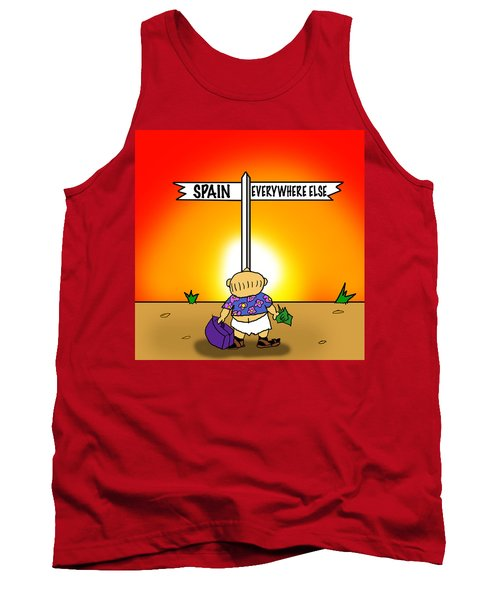 Decision Time Tank Top