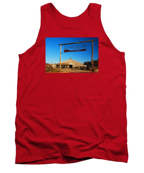 Tank Top featuring the photograph Deep Hollow Ranch  by James Kirkikis
