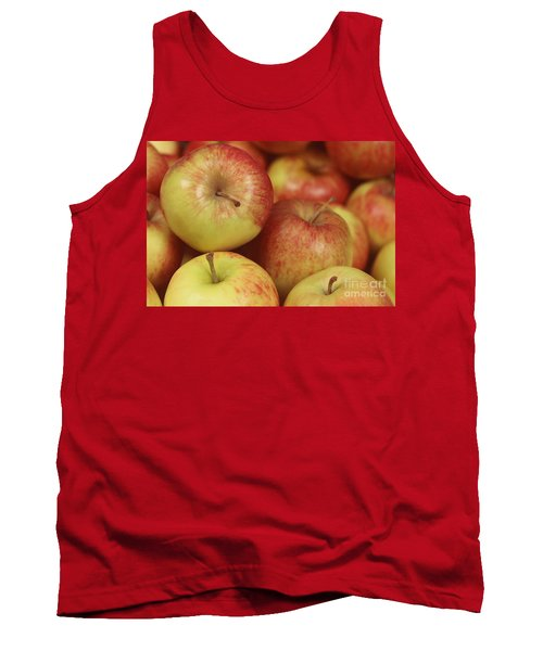 Delicious Apple Fruit Background Tank Top