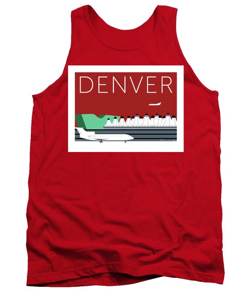 Denver Dia/maroon Tank Top