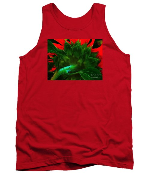 Tank Top featuring the photograph Derriere by Elfriede Fulda
