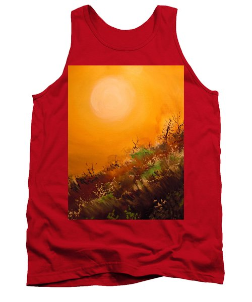 Hot Desert  Evening  Tank Top by Dan Whittemore
