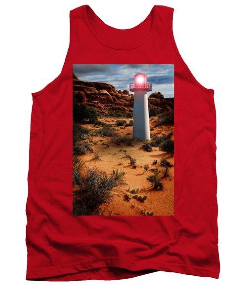 Desert Lighthouse Tank Top