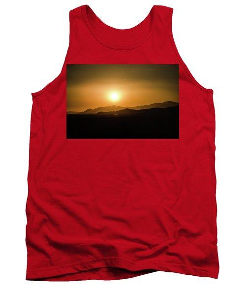 Desert Mountain Sunset Tank Top