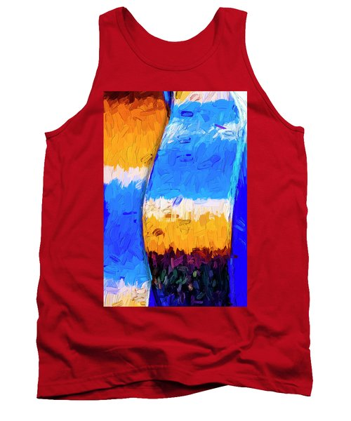 Tank Top featuring the photograph Desert Sky 3 by Paul Wear