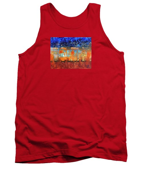 Desert Strata Tank Top by Walter Fahmy