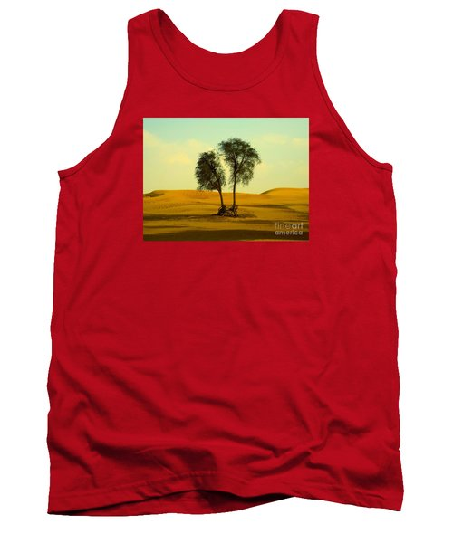 Desert Trees Tank Top