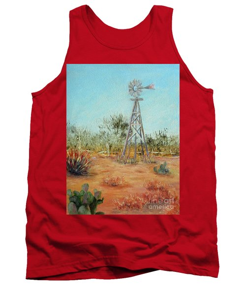 Desert Windmill Tank Top