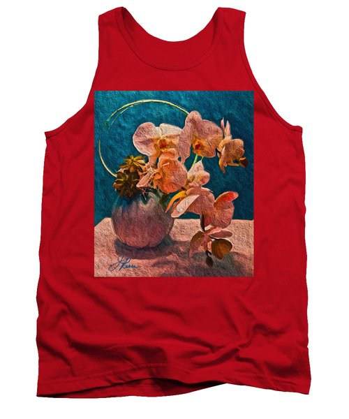 Designer Floral Arrangement Tank Top