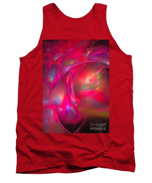 Tank Top featuring the digital art Desire by Sipo Liimatainen