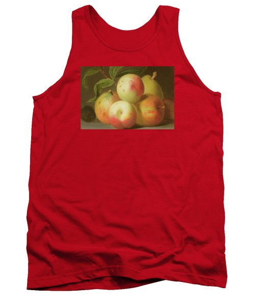 Detail Of Apples On A Shelf Tank Top