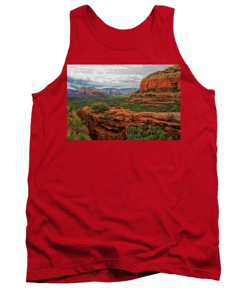 Tank Top featuring the photograph Devil's Bridge by Tom Kelly