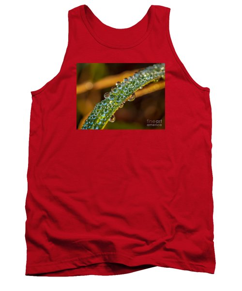 Dew Drop Reflection Tank Top by Tom Claud