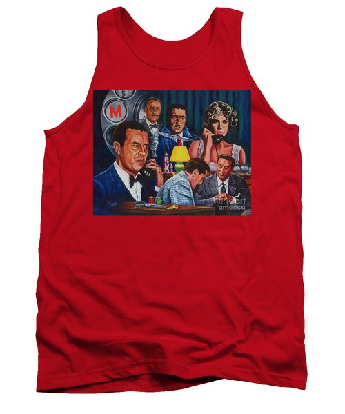 Dial M For Murder Tank Top by Michael Frank