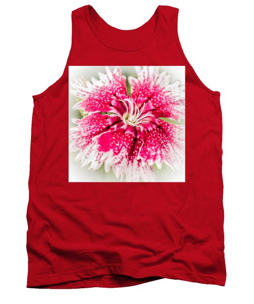 Dianthus Beauty Tank Top by Yeates Photography