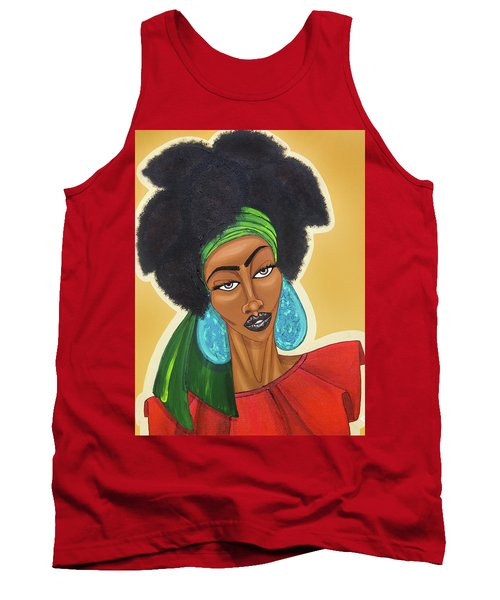 Diced Pineapples Tank Top